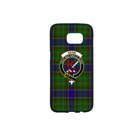 Image of Adam Tartan Clan Badge Rubber Phone Case TH8
