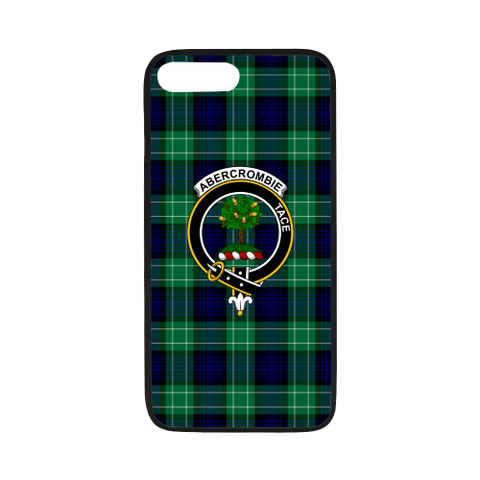Image of Abercrombie Tartan Clan Badge Rubber Phone Case TH8