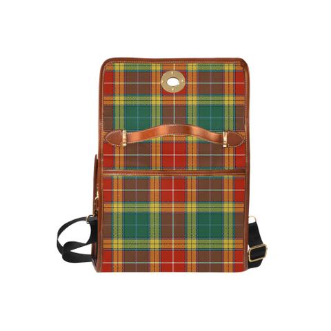 Image of Buchanan Old Sett Tartan Canvas Bag | Special Custom Design