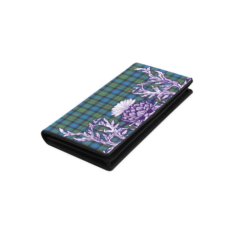 Image of Smith Ancient Tartan Wallet Women's Leather Wallet A91 | Over 500 Tartan