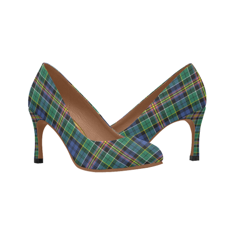 Allison Plaid Heels