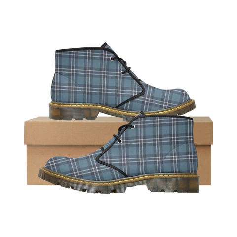 Earl of St Andrews Tartan Chukka Boot | Over 500 Tartans | Special Custom Design | Love Scotland