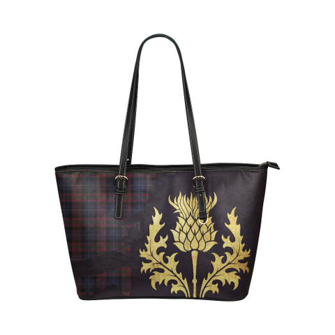 Pride Of Scotland Leather Tote Bag