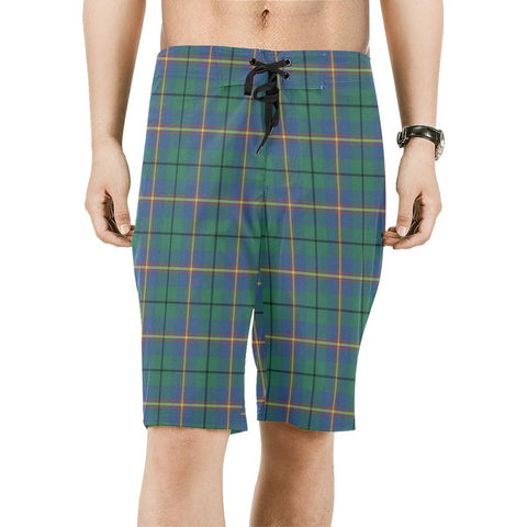 Image of Carmichael Ancient Tartan Board Shorts | scottishclans.co