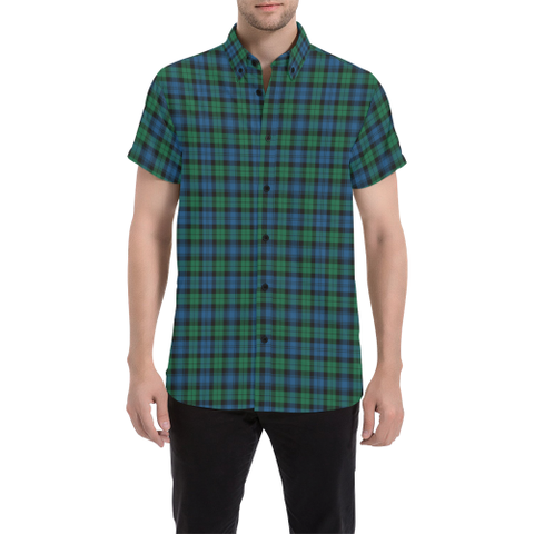 Image of Tartan Shirt - Blackwatch Ancient | Exclusive Over 500 Tartans | Special Custom Design