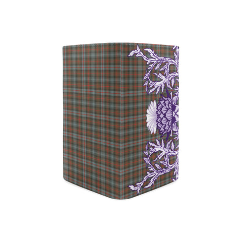 Murray of Atholl Weathered Tartan Wallet Women's Leather Thistle A91