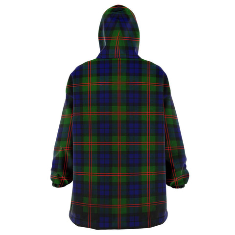 Image of Dundas Modern 02 Snug Hoodie - Unisex Tartan Plaid Back