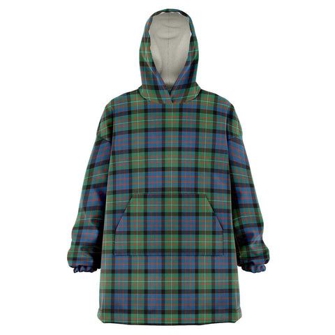 Image of MacDonnell of Glengarry Ancient Snug Hoodie - Unisex Tartan Plaid Front