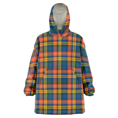 Buchanan Ancient Snug Hoodie - Unisex Tartan Plaid Front