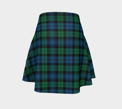 Tartan Flared Skirt - Blackwatch Ancient |Over 500 Tartans | Special Custom Design | Love Scotland
