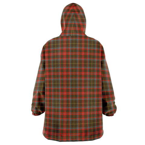 MacKintosh Hunting Weathered Snug Hoodie - Unisex Tartan Plaid Back