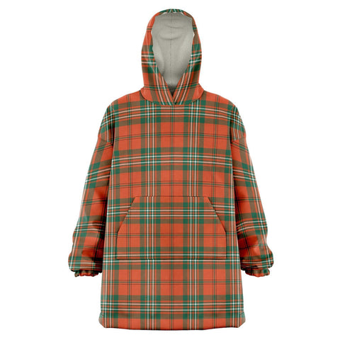 SCOTT ANCIENT Snug Hoodie - Unisex Tartan Plaid Front