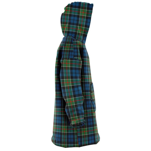 Colquhoun Ancient Snug Hoodie - Unisex Tartan Plaid Right