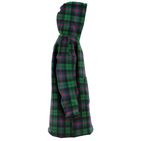 Urquhart Broad Red Ancient Snug Hoodie - Unisex Tartan Plaid Right