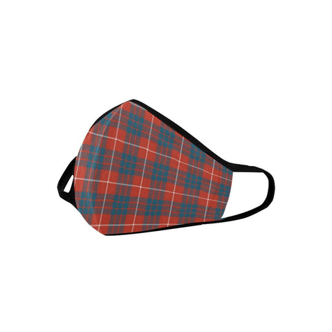Hamilton Ancient Tartan Mouth Mask With Filter | scottishclans.co