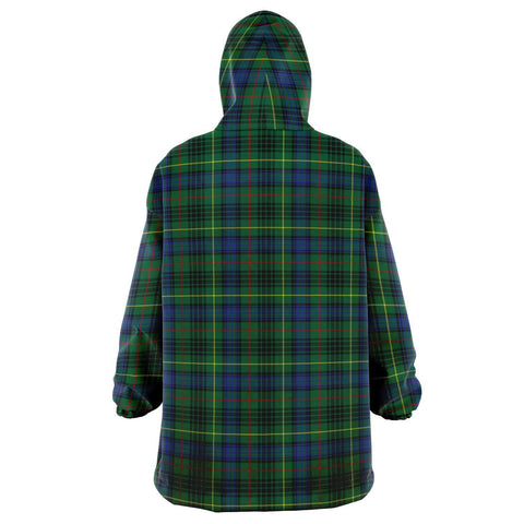 Image of Stewart Hunting Modern Snug Hoodie - Unisex Tartan Plaid Back