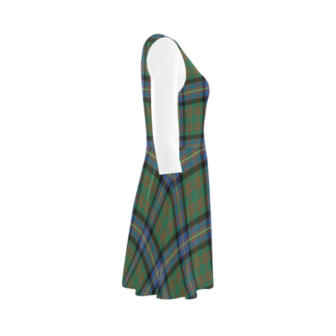 Cochrane Ancient Tartan 3/4 Sleeve Sundress | Exclusive Over 500 Clans