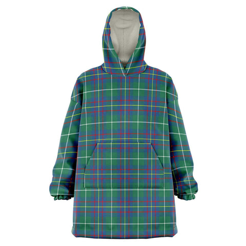 Image of Inglis Ancient Snug Hoodie - Unisex Tartan Plaid Front