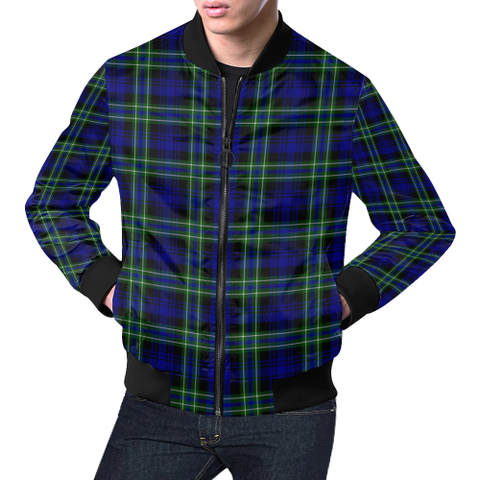 Arbuthnot Modern Tartan Bomber Jacket | Scottish Jacket | Scotland Clothing