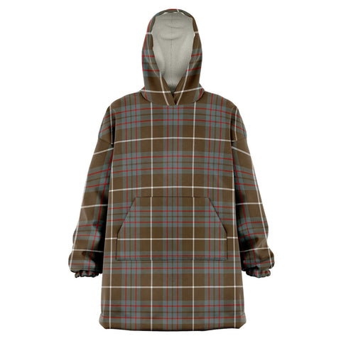 Image of MacIntyre Hunting Weathered Snug Hoodie - Unisex Tartan Plaid Front