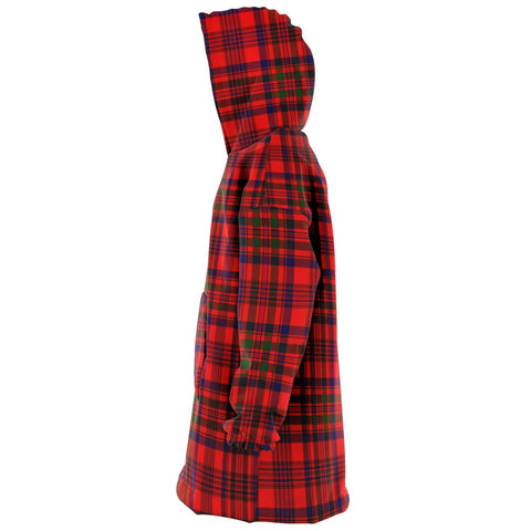 Murray of Tulloch Modern Snug Hoodie - Unisex Tartan Plaid Left