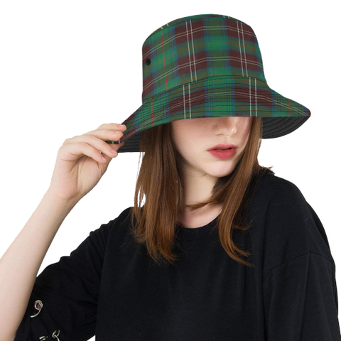 Chisholm Hunting Ancient Tartan Bucket Hat for Women and Men | Scottishclans.co