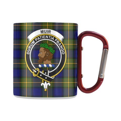Muir Tartan Mug Classic Insulated - Clan Badge | scottishclans.co