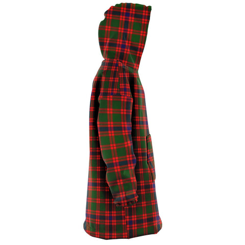 Skene Modern Snug Hoodie - Unisex Tartan Plaid Right