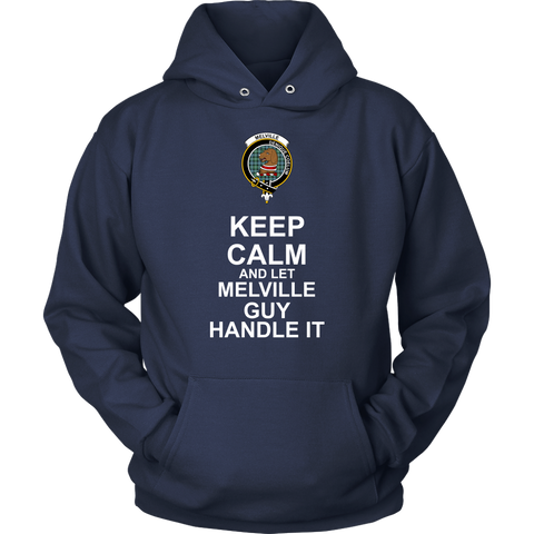 Melville Tartan Keep Calm Guy T-Shirt K7