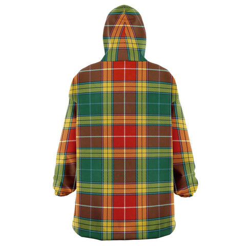 Buchanan Old Sett Snug Hoodie - Unisex Tartan Plaid Back