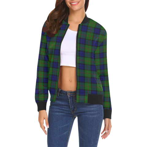 Dundas Modern Tartan Bomber Jacket | Scottish Jacket | Scotland Clothing