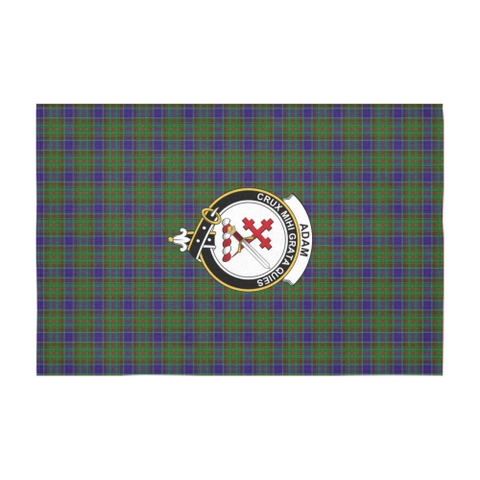 Image of Adam Crest Tartan Tablecloth | Home Decor