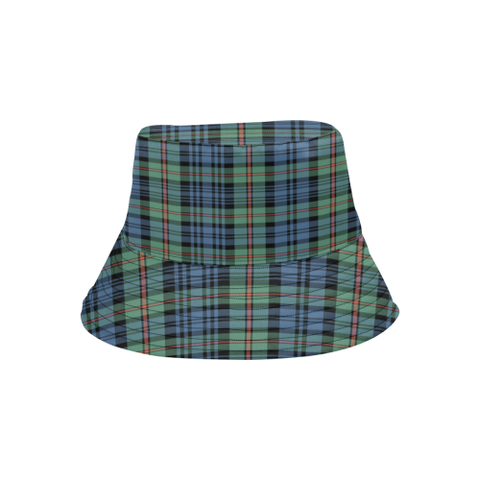 Mackinlay Ancient Tartan Bucket Hat for Women and Men K7