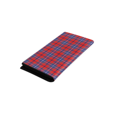 Image of Wishart Dress Tartan Wallet Women's Leather Thistle A91