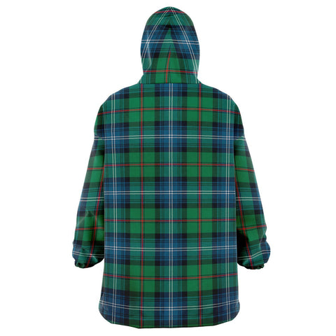 Image of Urquhart Ancient Snug Hoodie - Unisex Tartan Plaid Back