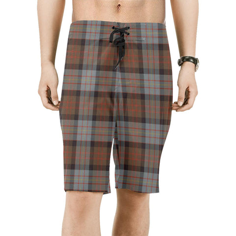 Cameron of Erracht Weathered Tartan Board Shorts | scottishclans.co