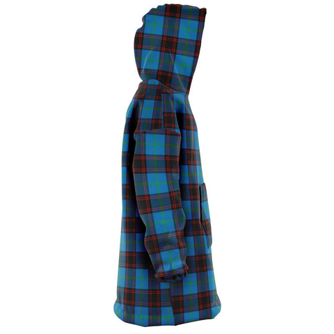 Home Ancient Snug Hoodie - Unisex Tartan Plaid Right