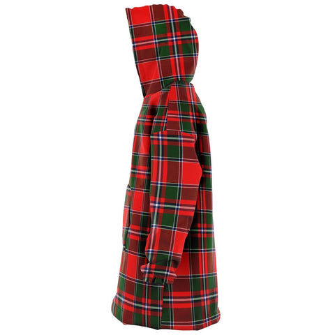 Spens Modern Snug Hoodie - Unisex Tartan Plaid Left