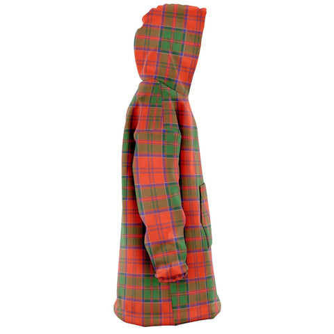 Grant Ancient Snug Hoodie - Unisex Tartan Plaid Right