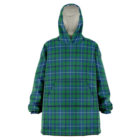 Image of Douglas Ancient Snug Hoodie - Unisex Tartan Plaid Front