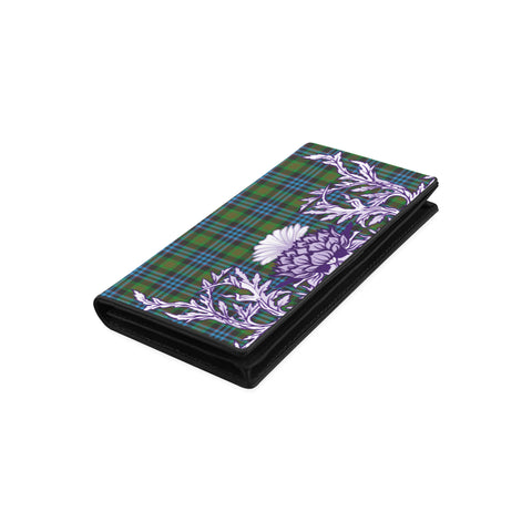 Image of Newlands of Lauriston Tartan Wallet Women's Leather Wallet A91 | Over 500 Tartan