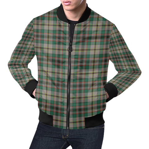 Craig Ancient Tartan Bomber Jacket | Scottish Jacket | Scotland Clothing