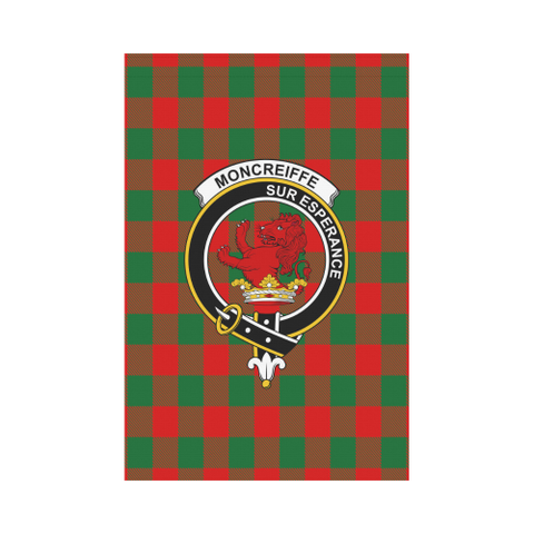 Moncrieffe Tartan Flag Clan Badge K7