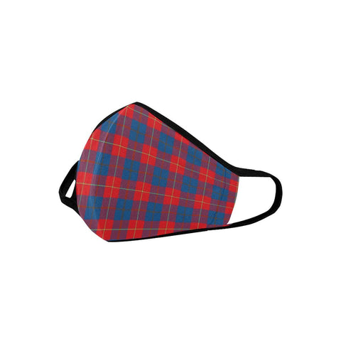 Galloway Red Tartan Mouth Mask With Filter | scottishclans.co