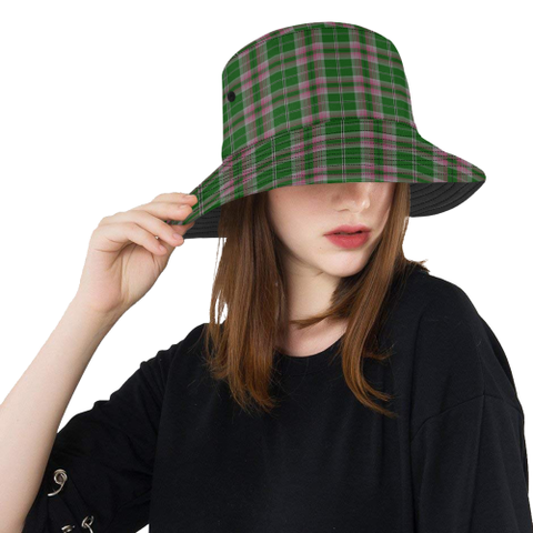 Gray Hunting Tartan Bucket Hat for Women and Men | Scottishclans.co