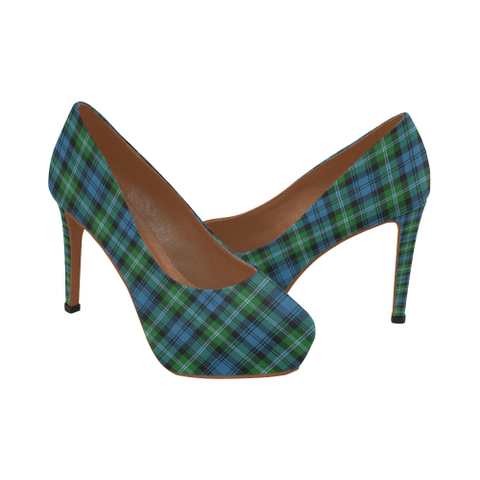 Image of Lyon Clan Tartan High Heels, Lyon Clan Tartan Low Heels