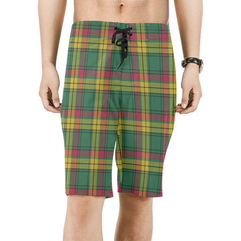 Image of MacMillan Old Ancient Tartan Board Shorts | scottishclans.co