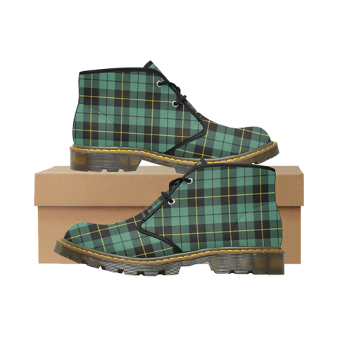 Image of Wallace Hunting Ancient Tartan Chukka Boot | Over 500 Tartans | Special Custom Design | Love Scotland