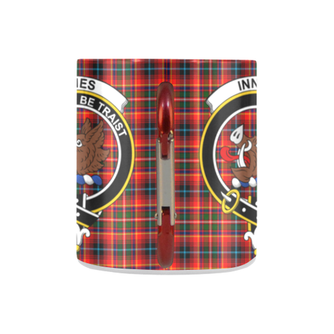 Innes Modern Tartan Mug Classic Insulated - Clan Badge K7