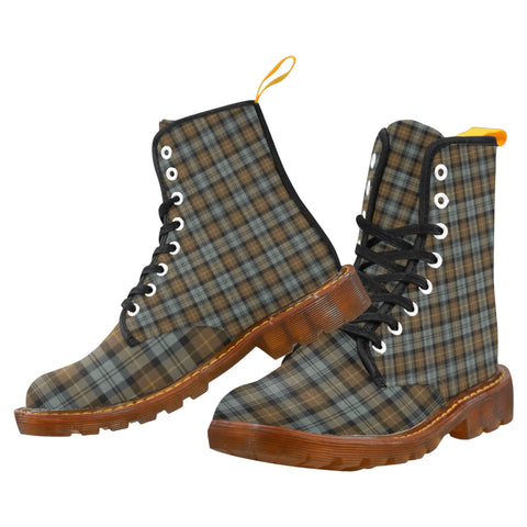 Image of Gordon Weathered Martin Boot | Scotland Boots | Over 500 Tartans